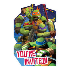 Teenage Mutant Ninja Turtles Invitations Kit