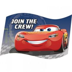 Disney Cars 3 Invitations Kit for 8