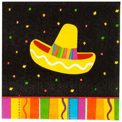 Small Fiesta Fun Napkins