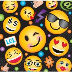 Large LOL Emoji Napkins - pk16