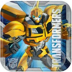 Transformers Snack Plates - pk8
