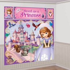 Sofia The First Scene Setter Kit