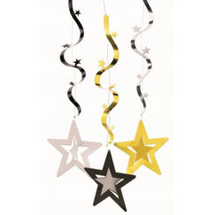 Hollywood Star Danglers - pk3