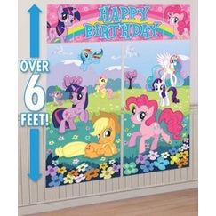 My Little Pony Birthday Scene Setter Kit