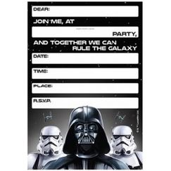 Classic Star Wars Invitations - pk8