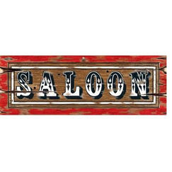 ! Saloon Sign Cut-out