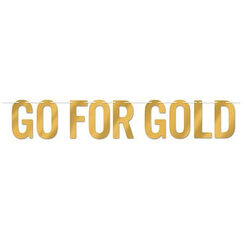 Go For Gold Banner
