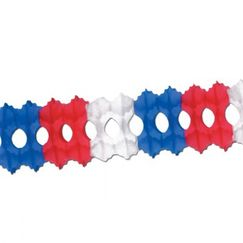 Hanging Red White Blue Garland