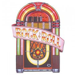 Rock & Roll Jukebox Cut-out