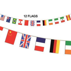International Flags Banner (4.4 mtrs)