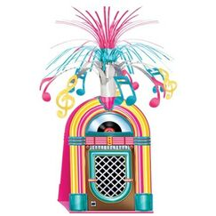 Jukebox Spray Centrepiece