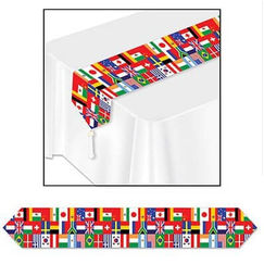 International Flags Table Runner