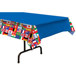 International Flags Tablecloth