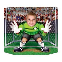 Soccer Goalie Photo Op Prop Stand Up