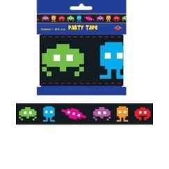 80s Video Game Icons Party Tape