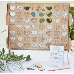 Connect 4 Wedding Guest Book