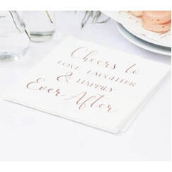 Happily Ever After Napkins - pk16