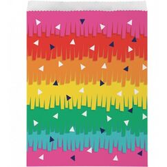 Fiesta Fun Paper Treat Bags - pk10