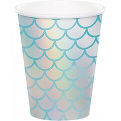 Mermaid Shine Cups - pk8