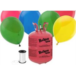 Disposable Helium Tank Kit - Standard