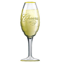 Champagne Glass Balloon (97cm)