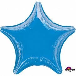 Blue Star 45cm Foil Balloon