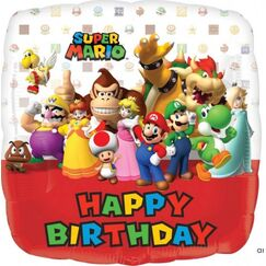 Super Mario Birthday Balloon (45cm)
