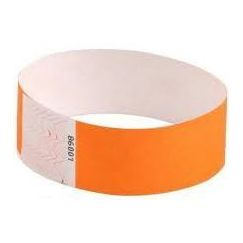Orange Neon Wrist Bands - pk10