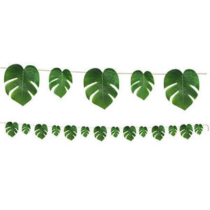 Tropical Palm Leaves Garland - 2.74mtrs