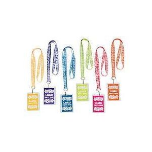 ! Beach Party Pass Lanyard Necklaces - pk12