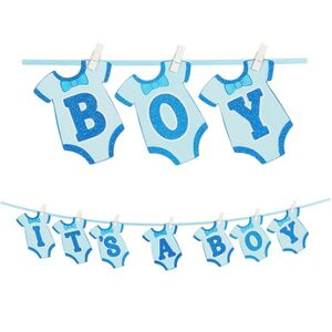 ! It's A Boy Clothesline Banner