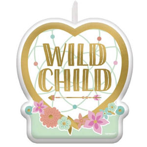 Boho Girl Wild Child Candle