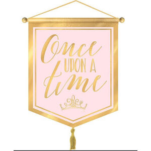 Once Upon A Time Canvas Sign