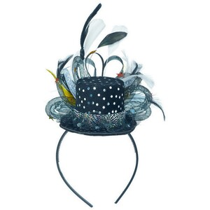 Deluxe Feather Mini Hat Headband