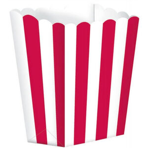 Red and White Treat Boxes - pk5