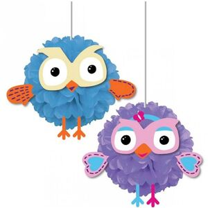 Hanging Giggle And Hoot Decorations - pk2