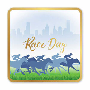 Race Day Drink Coasters - pk6